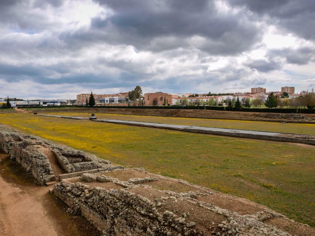 El Circo Romano de Mérida y sus 30.000 metros cuadrados de arena